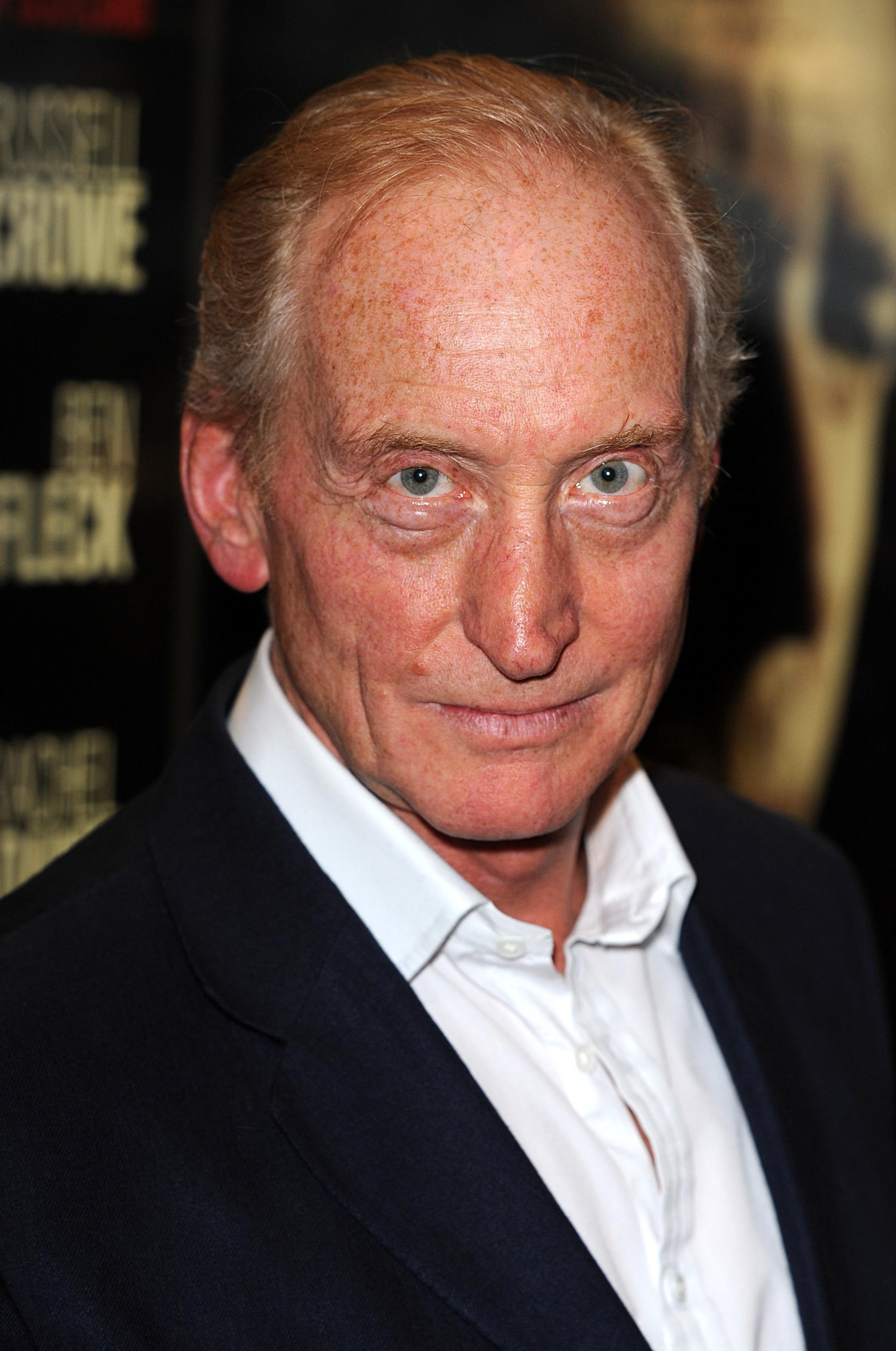 The 71-year old son of father Walter Dance and mother Eleanor Dance, 190 cm tall Charles Dance in 2018 photo