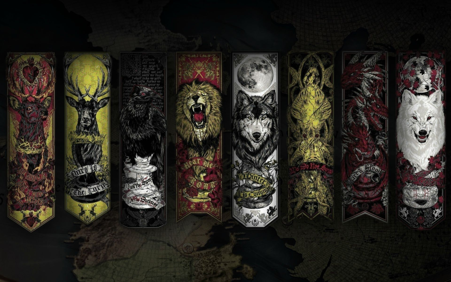 Game of Thrones HD Wallpaper – Sigils