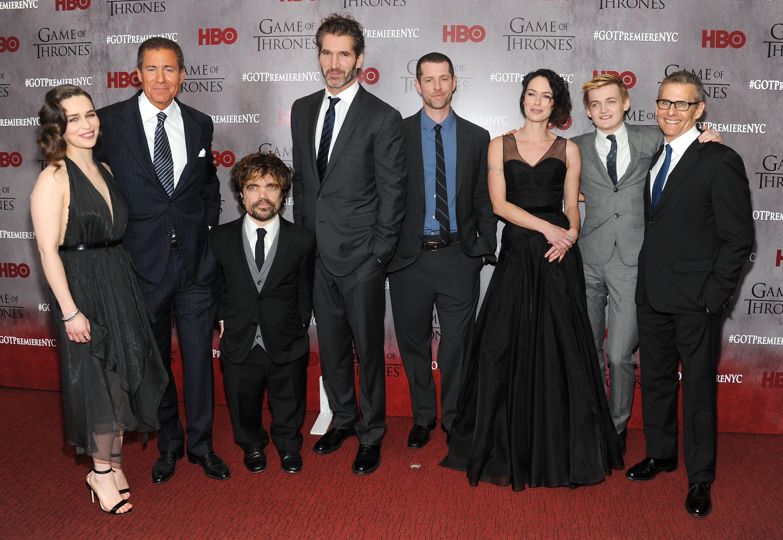 Game of Thrones Premier Shoot