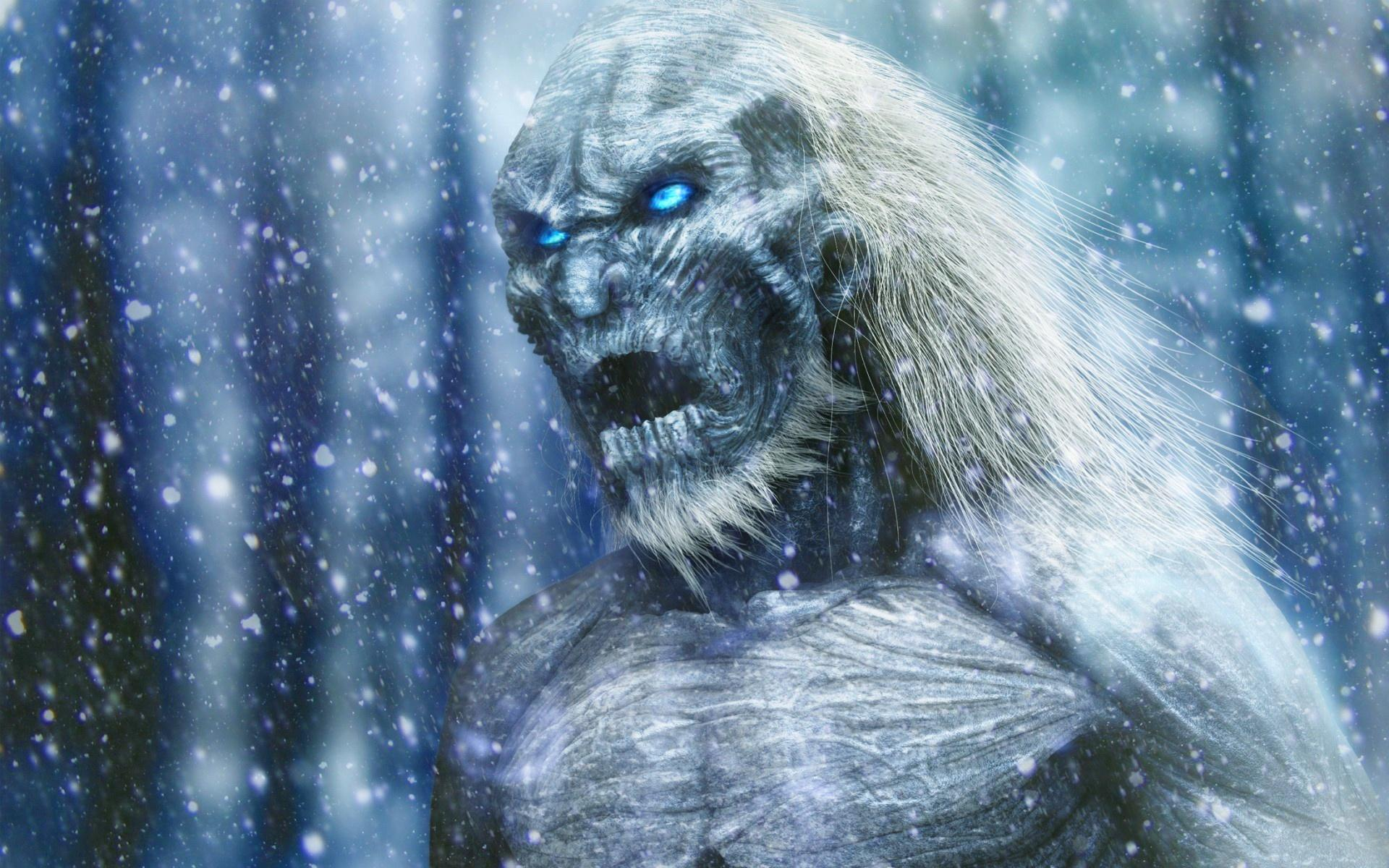 White Walker Wallpaper on game of thrones crown
