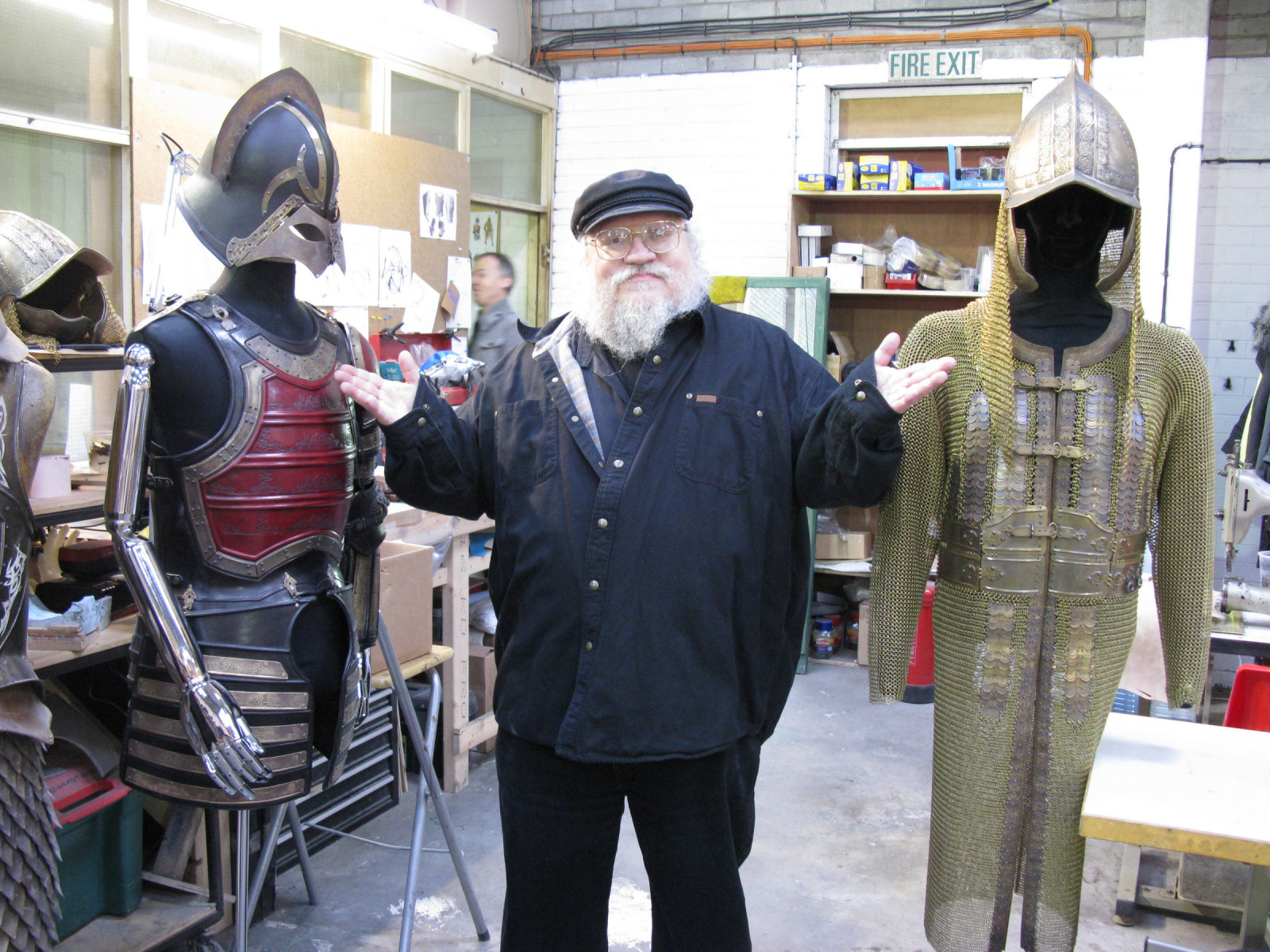 George R.R Martin and Costumes