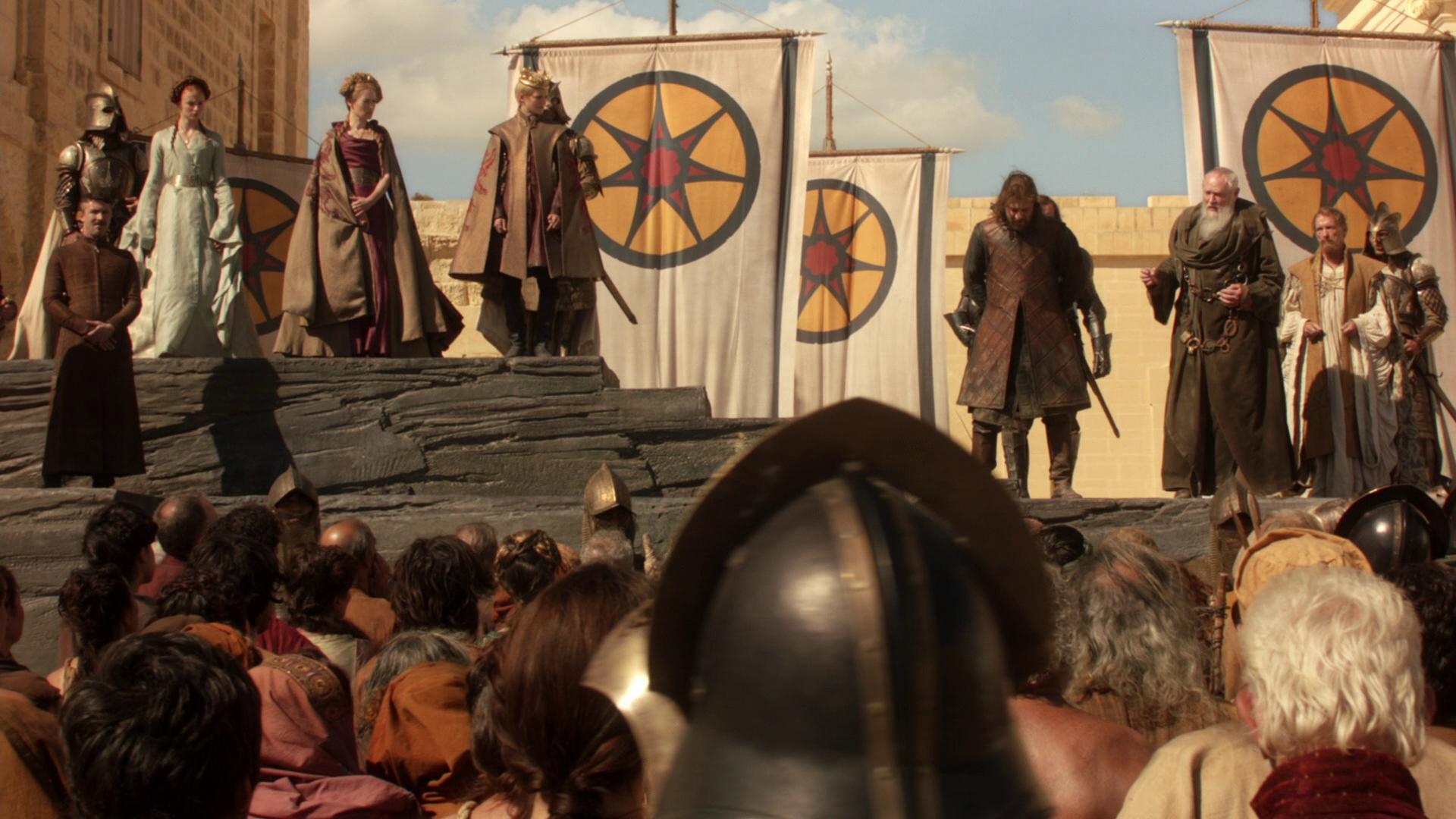 Ned Starks Beheading
