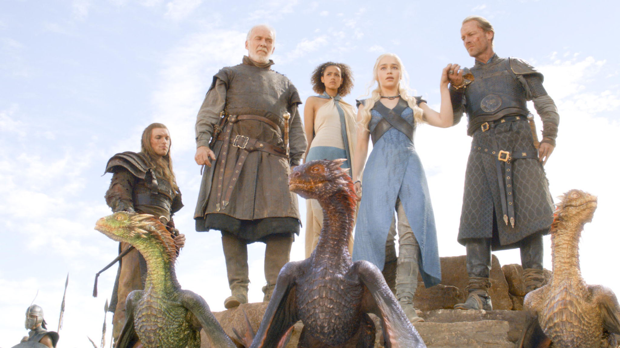 The Mother and Her Dragons