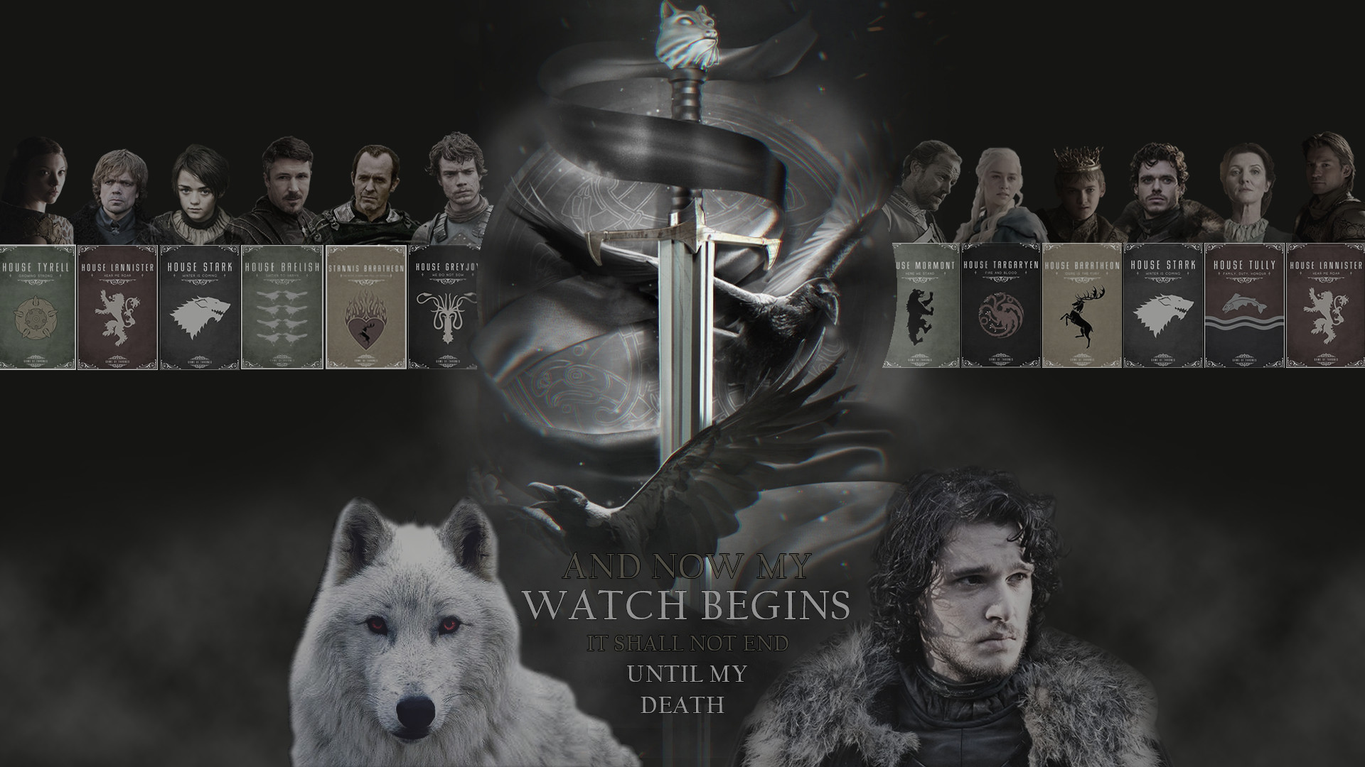 Cool HD Game of Thrones Poster Wallpaper