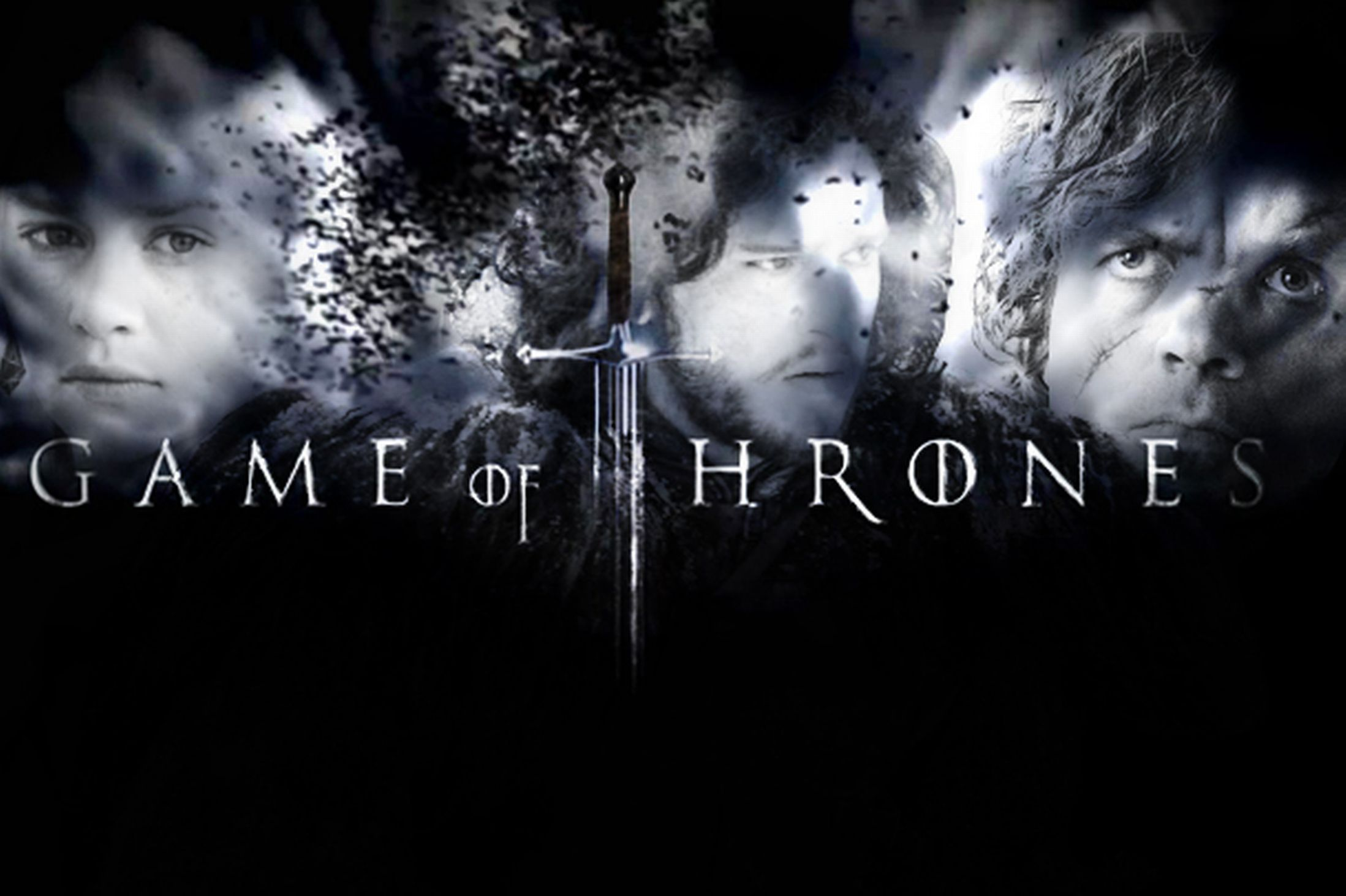 Game of Thrones Title – Black & White