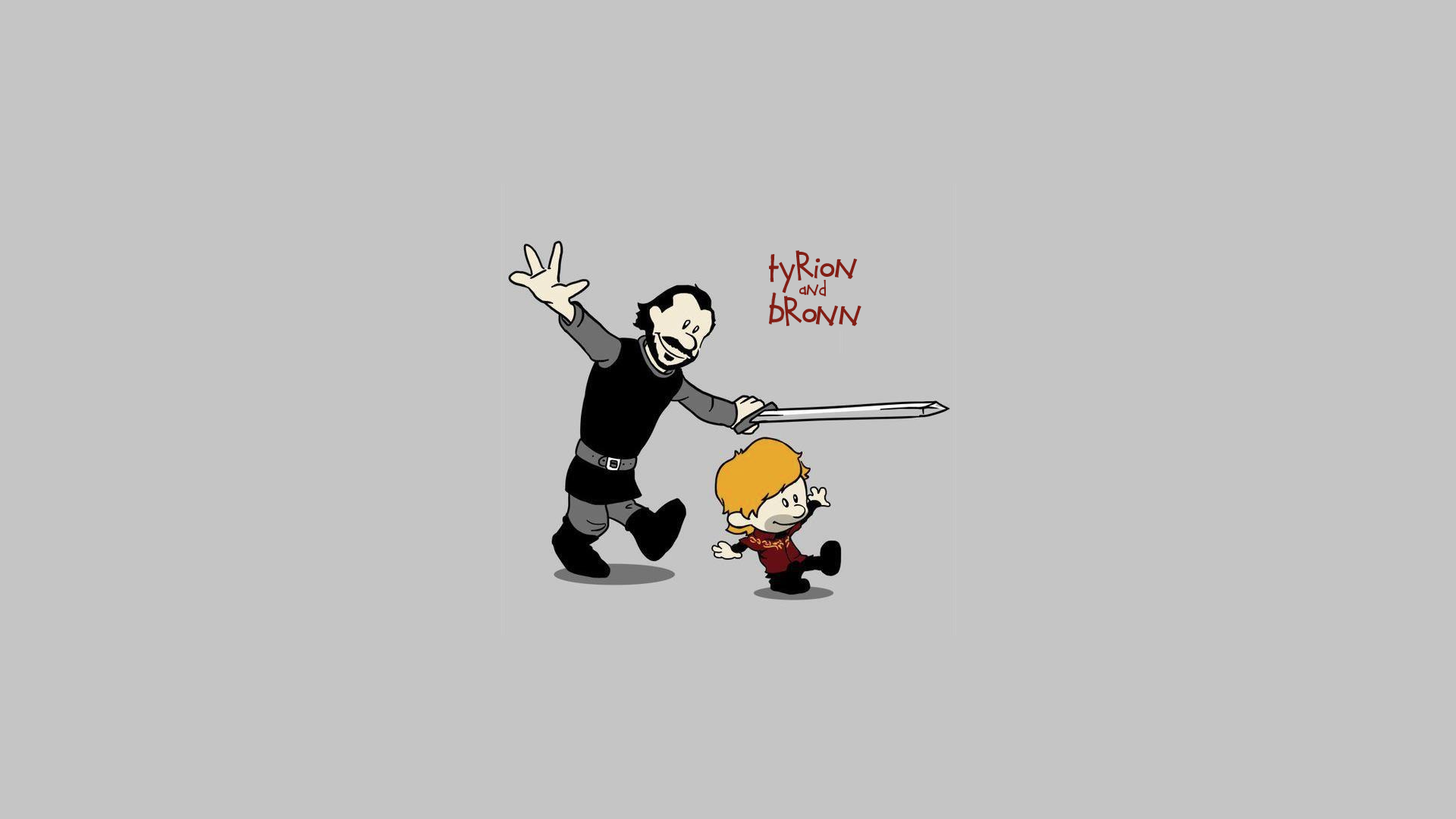 HD Cartoon Tyrion & Bronn