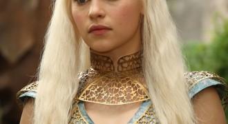 Long Blonde Haired Khaleesi