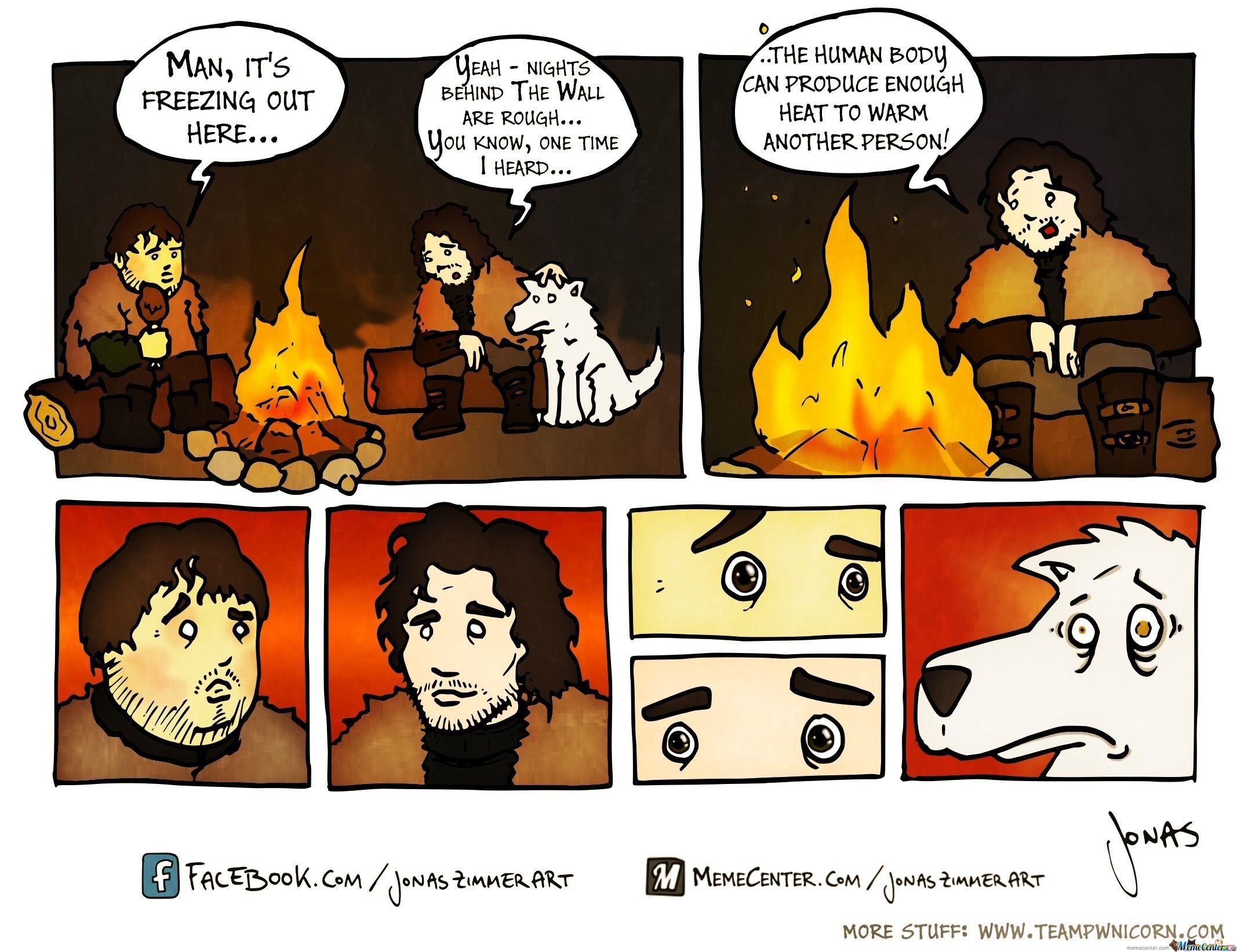 Naughty Jon Snow